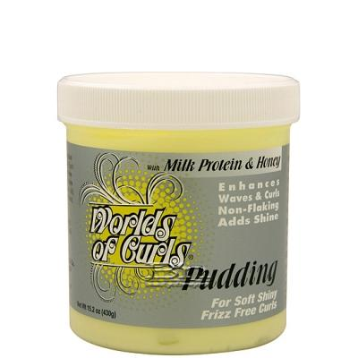 Worlds of Curls Pudding Enhances Waves & Curls 15.2oz