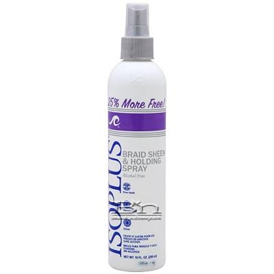 Isoplus Braid Sheen & Holding Spray 10oz