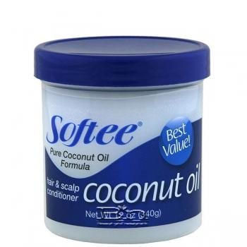 Softee Coconut Oil Hair & Scalp Conditioner 12 oz