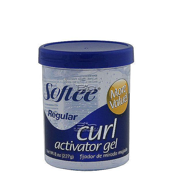 Softee Curl Activator Gel - Regular 8oz