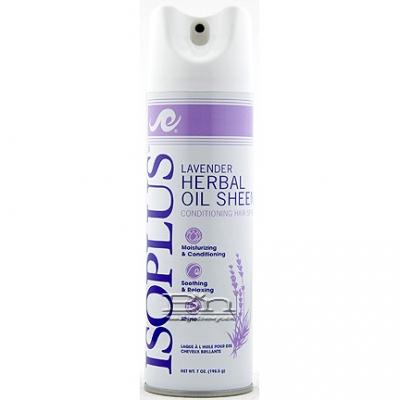 Isoplus Lavender Herbal Oil Sheen Spray 7oz
