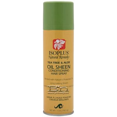 Isoplus N/R Tea tree & aloe oil sheen spray 7oz