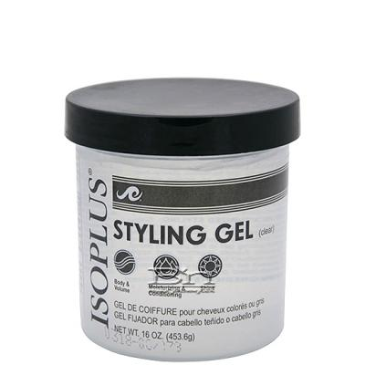 Isoplus Styling Gel 16oz - Clear