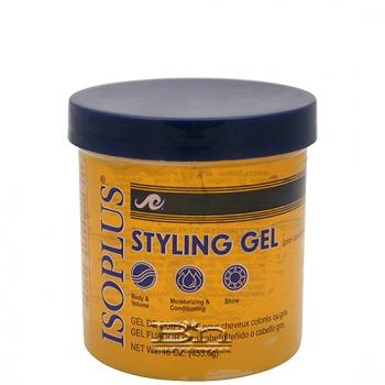 Isoplus Styling Gel 16 oz - Pre-Conditioning Light