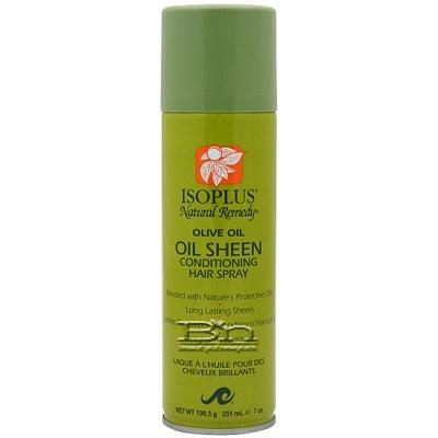 Isoplus Olive Oil Oil Sheen Conditioning Hair Spray 7 oz