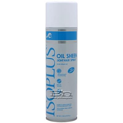 Isoplus Oil Sheen Light Hair Spray 11oz