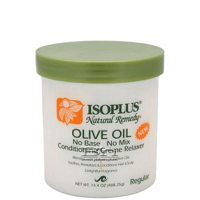 Isoplus Natural Remedy Olive Oil Conditioning Creme Relaxer