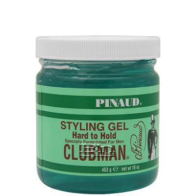 Clubman Styling Gel Hard to Hold 16oz