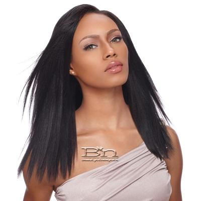 Sensationnel 100% Human Hair Yaki Clip-in Weave 14 - MEDIUM (7
