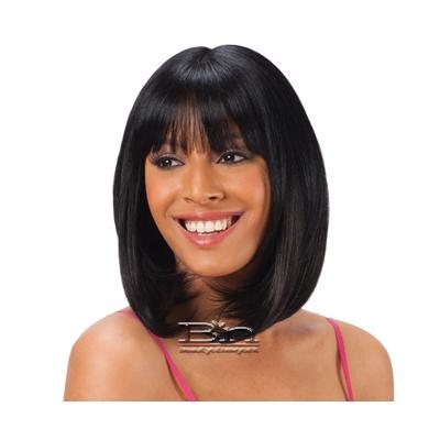 Freetress Equal Synthetic Clip in Bang Piece - LACE BLUNT BANG