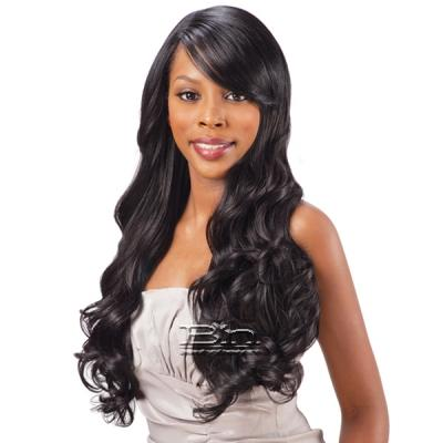Freetress Equal Synthetic Clip in Bang Piece - LACE SWEPT SIDE BANG