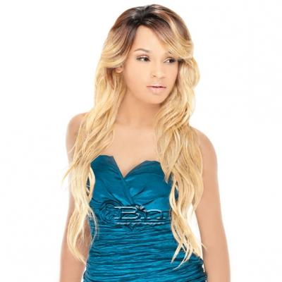 Outre Synthetic U-Part Lace Front Wig - HONEY (futura)