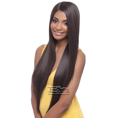Janet Collection Natural Super Flow Deep Part Lace Wig - DAVISA