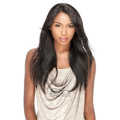 Sensationnel 100% Brazilian Virgin Remi Bare & Natural L Part Lace Front Wig - NATURAL STRAIGHT
