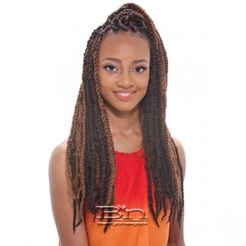 Janet Collection Synthetic Braid - 2X AFRO MARLEY BRAID