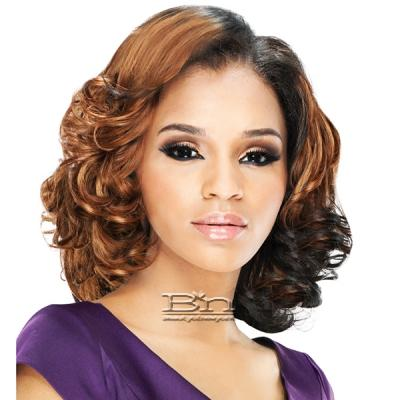 Outre Purple Pack Human Hair Blend Weaving - SEA WAVE 3 PCS