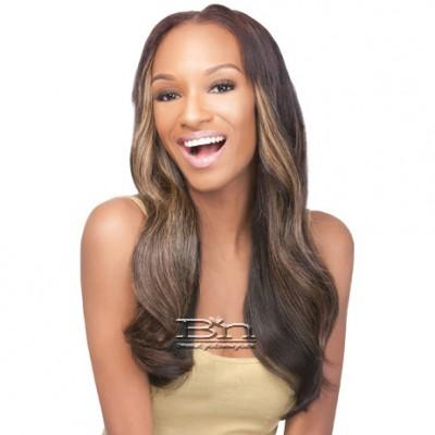 Outre Simply 100% Non-processed Brazilian Virgin Remy Human Hair Weave - NATURAL STRAIGHT 10