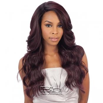 Freetress Equal Synthetic Hair Lace Deep Invisible L Part Lace Front Wig - DANITY