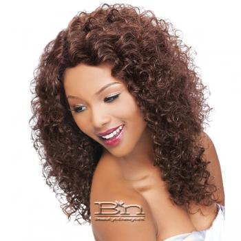Outre Simply 100% Non-processed Brazilian Virgin Remy Human Hair Lace Front Wig - BRAZILIAN NATURAL CURLY