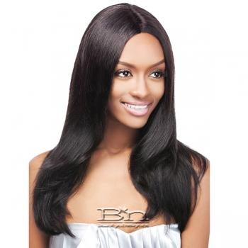 Outre Simply 100% Non-processed Brazilian Virgin Remy Human Hair Lace Front Wig - BRAZILIAN NATURAL STRAIGHT