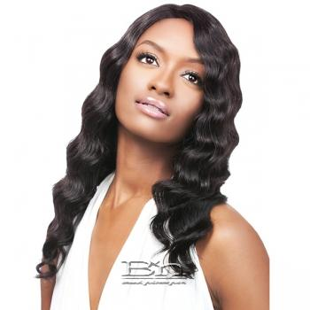 Outre Simply 100% Non-processed Brazilian Virgin Remy Human Hair Lace Front Wig - BRAZILIAN NATURAL DEEP