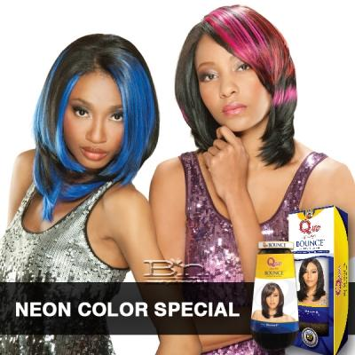 Milky Way Que Human Hair Blend Weave - Bounce (Neon Color Special)