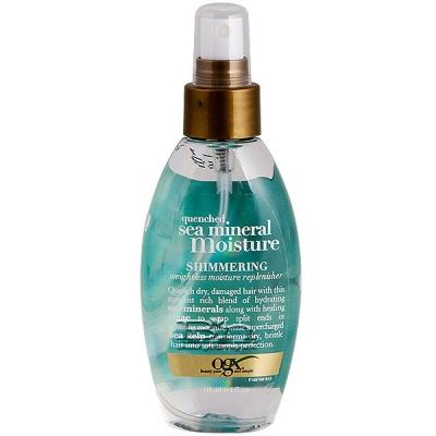 Organix Quenched Sea Mineral Moisture Shimmering Weightless Moisture Replenisher 4oz