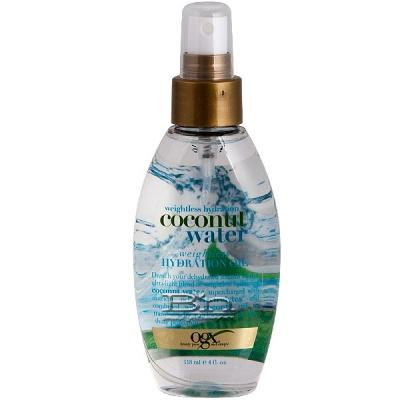 Organix Weightless Hydration Coconut Water Weightless Hydration Oil 4oz