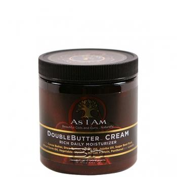 As I Am Double Butter Cream Rich Daily Moisturizer 8oz