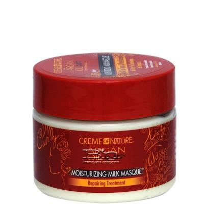 Creme Of Nature Argan Oil Moisturizing Milk Masque Repairing Treatment 11.5oz