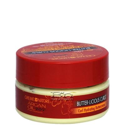 Creme Of Nature Argan Oil Butter-Licious Curls Curl Hydrationg Buttercreme 7.5oz