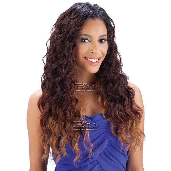 Milky Way Que Human Hair Blend Weave Malaysian Loose Wave 7 Bundle