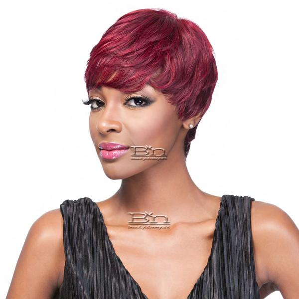 It's a Cap Weave 100% Human Hair Wig - ANDI