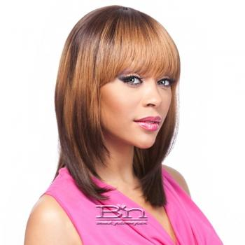 It's a Cap Weave 100% Human Hair Wig - YAKI 1012