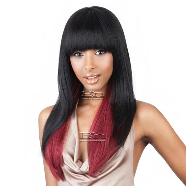 Mane Concept Brown Sugar Human Hair Blend Full Wig - BS103