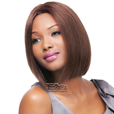 Outre Simply 100% Non-processed Brazilian Virgin Remy Human Hair Lace Front Wig - BRAZILIAN NATURAL STRAIGHT BOB