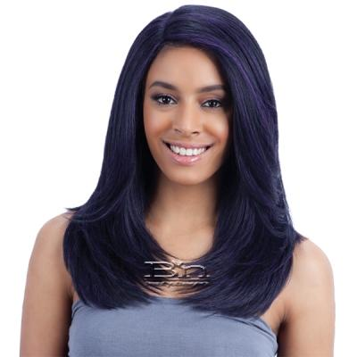 Freetress Equal Synthetic Hair Lace Deep Invisible L Part Lace Front Wig - JANNIE
