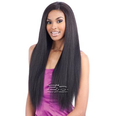 Model Model Dream Weaver Human Hair Blend Weaving - Pose Peruvian Blow Out Texture Straight 7pcs (18/18/20/20/22/22 + closure)