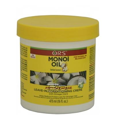 ORS Monoi Oil Anti-Breakage Leave-In Conditionning Creme 16oz