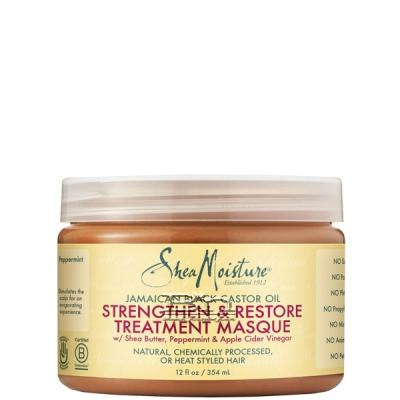 Shea Moisture Jamaican Black Castor Oil Strengthen & Restore Treatment Masque 12oz