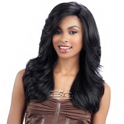 Model Model Synthetic Hair Deep Invisible L Part Wig - JORDAN