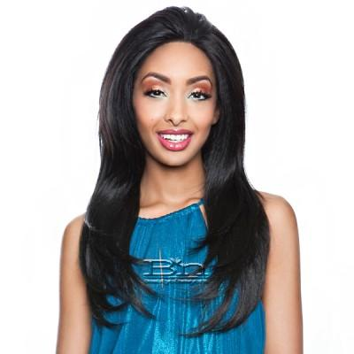 Isis Brown Sugar Human Hair Blend Whole Lace Front Wig - BS401