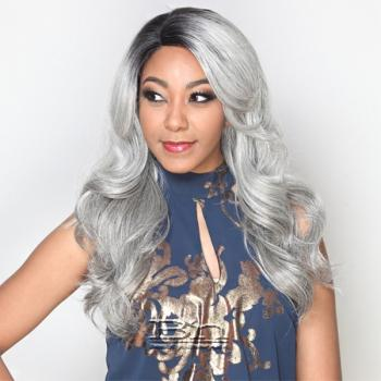 Zury Sis Invisible Top C Part Lace Wig - IV-LACE H ARI