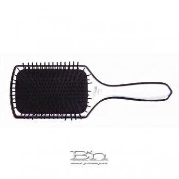 Diane #1037 13 Row Silver Paddle Brush