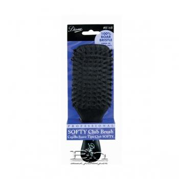 Diane #8168 100% Boar Softy Club Brush 7