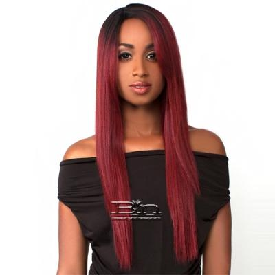 The Wig Brazilian Human Hair Blend Lace Front Wig - LH BEYONCE