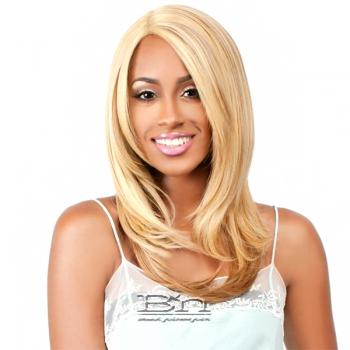The Wig Brazilian Human Hair Blend Lace Front Wig - LH EROS