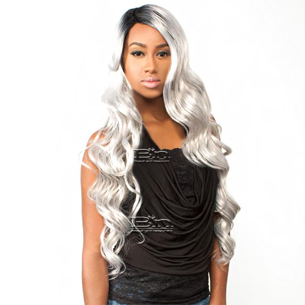 The Wig Brazilian Human Hair Blend Lace Front Wig - LH OCEAN