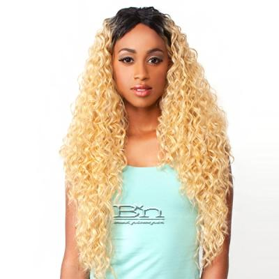 The Wig Brazilian Human Hair Blend Lace Front Wig - LH PERUVIAN