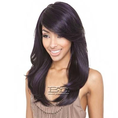 Mane Concept Brown Sugar Human Hair Blend Full Wig - BS110